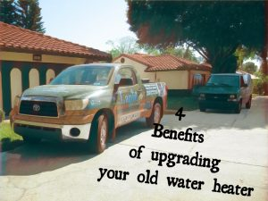 4 Benefits of upgrading your old water heater